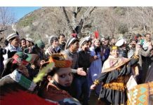 Kalash winter festival 'Chawmoss' continue to attract tourists