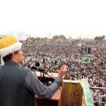 Imran Khan in Jamrud jalsa