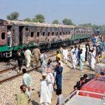 73 people die in Tezgam Express inferno in Rahim Yar Khan