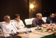 PTI core committee rejects demand of PM's resignation, re-elections