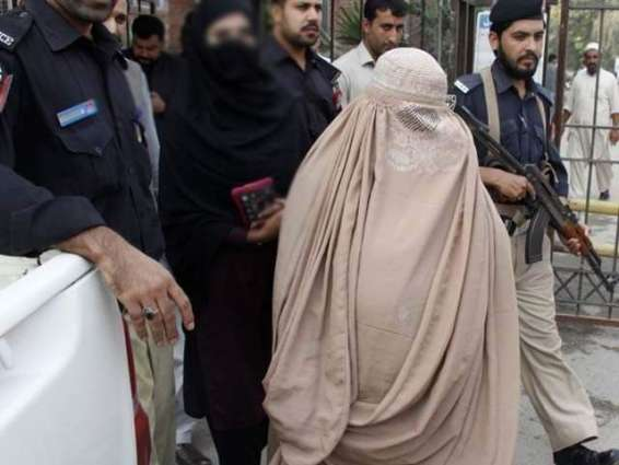 Afghan woman suicide bomber arrested in Peshawar