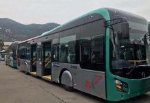 BRT bus fault